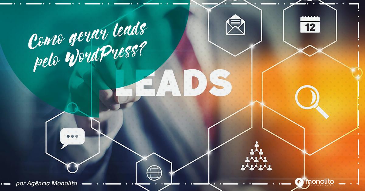 Como gerar leads no WordPress?